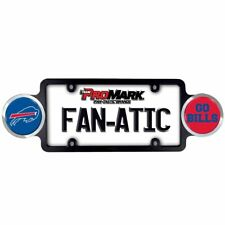 Buffalo Bills NFL Automotive License Plate Frame with Team Badges