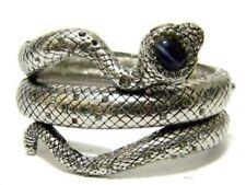 Swirl Snake Animal Reptile Metal Fashion Bangle Bracelet New Design Chic Crystal
