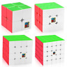 Moyu Speed Cube Bundle 2x2 3x3 4x4 5x5 Mofangjiaoshi Stickerless Magic Cube Set