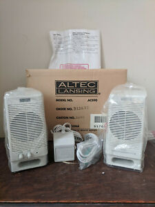 Altec Lansing ACS90 Desktop Computer Speaker System Multimedia New Open Box