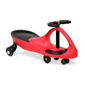 Rigo Kids Children Swing Car Ride On Toys Scooter Wiggle Slider Swivel Cars Red