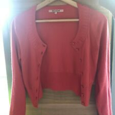REVIEW adorable coral cardigan size 6