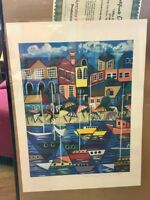 Anthony Falbo Modernist signed Lithograph+certificate of authenticity