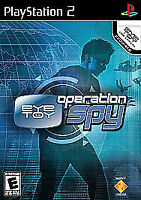Eye Toy Operation Spy Playstation 2 ps2 game only 18h kids no eye toy included