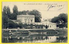 """cpa JOINVILLE le PONT en 1905 Auberge Artistique Pacot """"AUX BIBELOTS du DIABLE"""""""