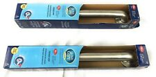 Moen Home Care Grab Bar 18 inches Peened Grip 500 Pound Pull Capacity