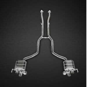 Capristo Bentley Continental GT V8 (S) Valved Exhaust System - No Remote