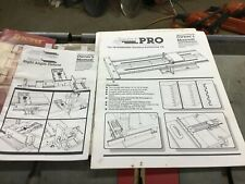 Incra Professional positioning Jig