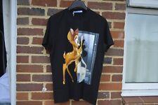 Givenchy Black Bambi Print T-Shirt   Size XS Columbian SS18 RRP $590