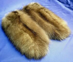 Mittens Natural sable cotton best quality style brown winter Siberia Russia