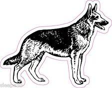 German Shepherd Vinyl Window Decal Sticker