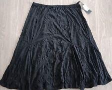 Taking Shape Plus Size Skirt Long Crinkled Elastic Waist Black Size M RRP$119.95