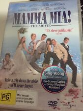 Mamma Mia! - THE MOVIE - SING-ALONG VERSION - DVD NEW & SEALED