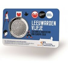 Nederland 5 euro 2018 Leeuwarden Vijfje BU in coincard - Netherlands coin