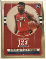 2019-20 Panini Chronicles #552 Zion Williamson RC Hometown Heroes Rookie MINT!!