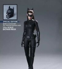 "1/6 Batman Catwoman Helmet Hat Mask Cap For 12"" Hot Toys MMS188 Figure Body Toy"