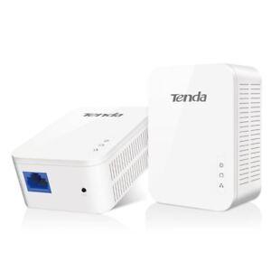 Tenda PH3 AV1000 Gigabit Powerline Gaming HD TV Adapter Kit 1000Mpbs UK
