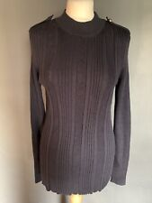 H & M logg Navy Blue Jumper Size XL