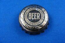 JOHN LABATT'S LCBO BEER CORK LINED BOTTLE CAP