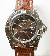 Cool Brown Dial Ladies Breitling Cockpit Chronometer A71356 1 Year Warranty
