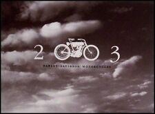 2003 Harley Davidson Prestige Brochure, Full Line, HUGE 68 pgs Sportster Softail