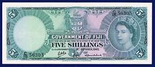 FIJI 5 SHILLINGS 1964 PIC51D GVF