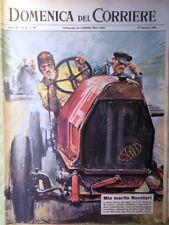 La Domenica del Corriere 27 Gennaio 1963 Nuvolari D'Annunzio Telstar Satellite
