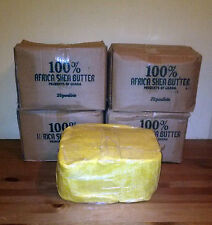 1 Lb. Raw Organic SHEA BUTTER Unrefined Pure Yellow Gold Ghana Grade A 16 Ounces
