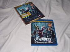 Marvel's The Avengers BLU-RAY 3D+2D+DVD Thor Hulk Iron Man Captain America 3-D