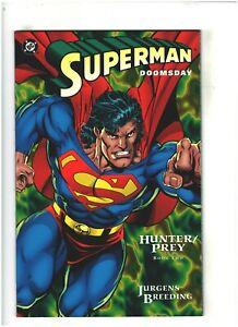 Superman/Doomsday: Hunter/Prey #2 NM- 9.2 DC Comics 1994 Dan Jurgens