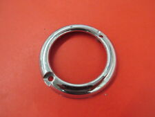 NORS 1951 Ford car parking lamp bezel chrome    A-6-12