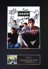 Oasis - *RARE* Reproduction Signed / Autographed Photograph - Museum Grade #491