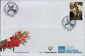 Diversity discrimination rights flag Art Delacroix French Revolution Uruguay FDC