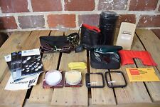 Lot of 18 Assorted Camera Accessories and Manuals