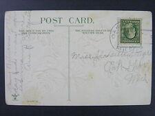 Oak Grove Michigan MI 1910 Type 2/5 Doane Cancel DPO 1839-1982 Postcard