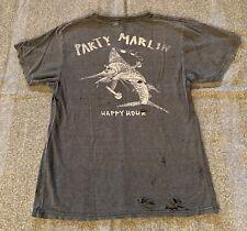 Happy Hour Party Marlin - T-Shirt Black Distressed Soft - Dickson - Boyfriend