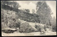 1906 Coimbra Portugal RPPC Postcard Cover To Golega limpet of the mainstays