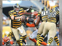 NFL Pittsburgh Steelers Ben Roethlisberger Game Action Color 8 X 10 Photo