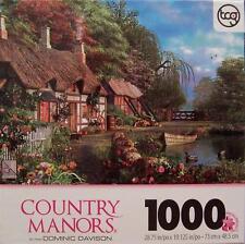 SURE-LOX JIGSAW PUZZLE RIVERSIDE HOME IN BLOOM DOMINIC DAVISON 1000 PCS #99104-5