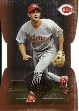 1997 Leaf Fractal Matrix Die Cut Bronze Brett Boone 163 Reds