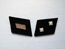 WW2 German Elite Oberscharführer (Technical Sgt.) Collar Tabs