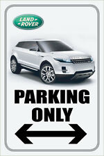 "Land Rover 12""x18"" Full Color Metal Auto Parking Sign"