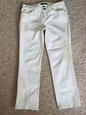 LRL Lauren Jeans Ralph Lauren Petite Beaded Jeans 10P CC01