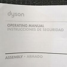 Dyson DC35 Cordless Vacuum Cleaner Operating Manual User Guide Instruction Book