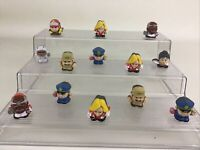 """Hidden Monster Mini Figures 1"""" Two Faced Two Sided Alien Astronaut devil Driver"""
