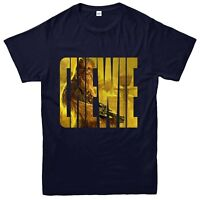 Chewbacca T-Shirt, Chewie Star Wars Character Inspired Tee Top