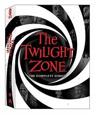 "THE TWILIGHT ZONE COMPLETE ORIGINAL SERIES COLLECTION DVD BOX SET 25 DISCS ""NEW"""