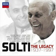 Solti: The Legacy 1937-97 2012 by Franz Peter Schubert; Wolfgang Amade EXLIBRARY