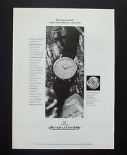 F135 - Advertising Pubblicità - 1992 - JAEGER LE COULTRE , GENTILHOMME