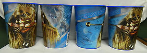 "STAR WARS ""CHEWBACCA"" PLASTIC CUPS- SET OF 4"